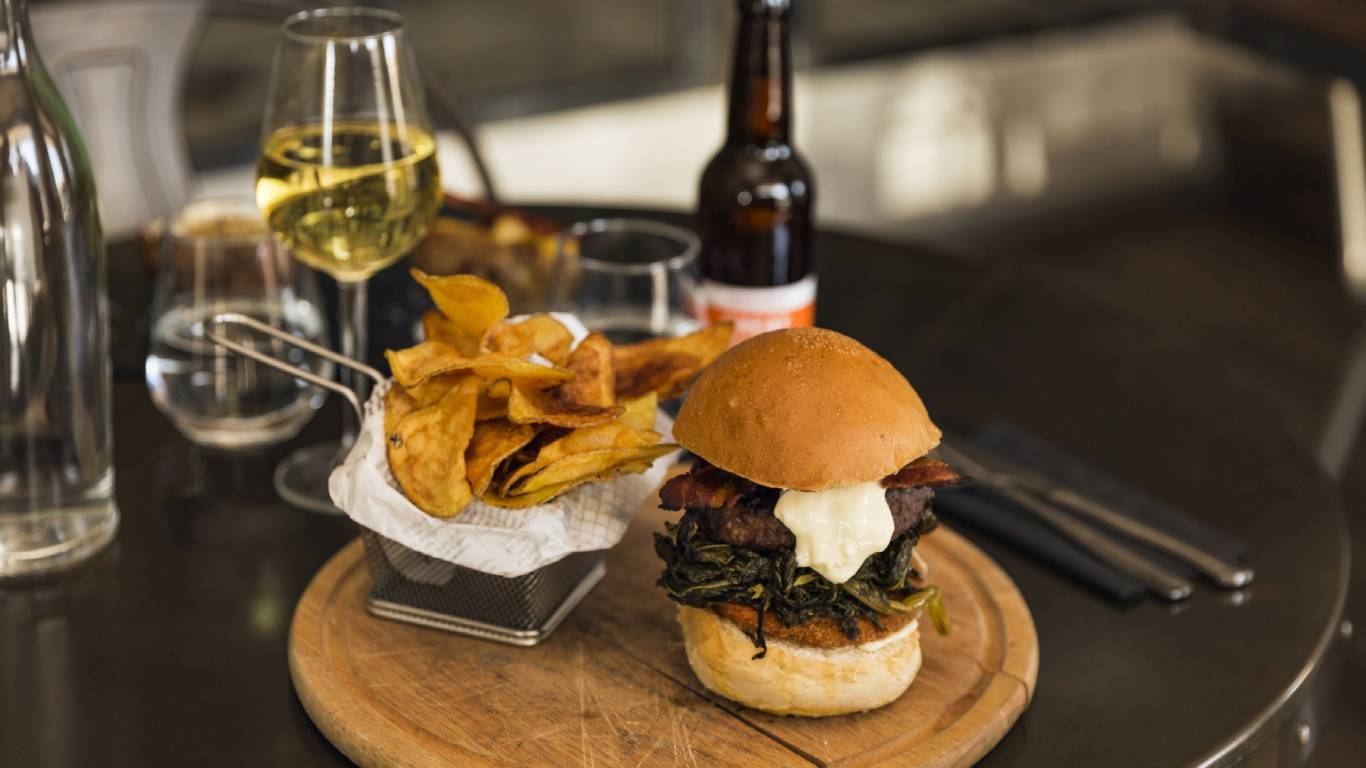 Restaurant-La-Flaca-Rome-hamburger-MG-9147