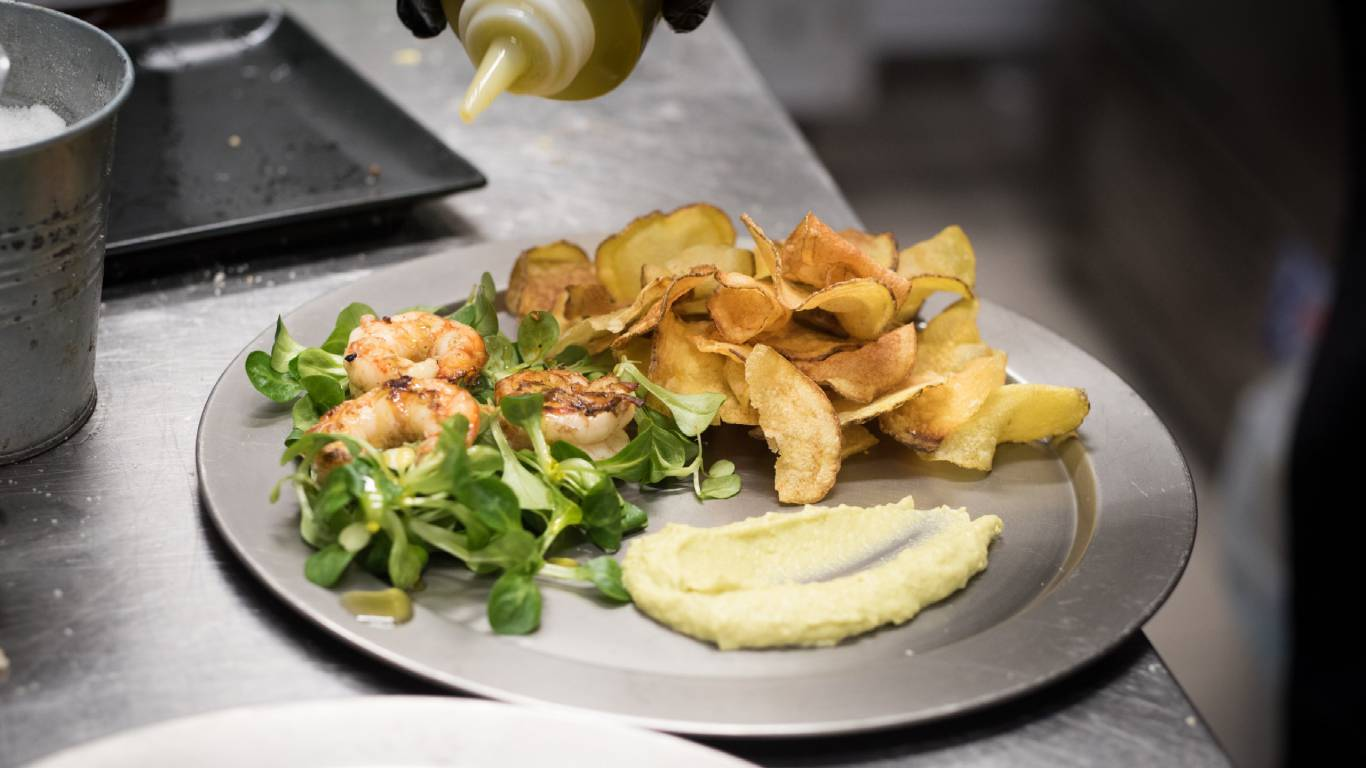 Restaurant-La-Flaca-Rome-fish-and-potatoes-176